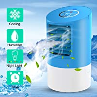 Portable Air Conditioner - Begleri19 Air Cooler, Desk Cooling Fan, Air Conditioning Unit for Home Office, Timer 3 Speed Fan