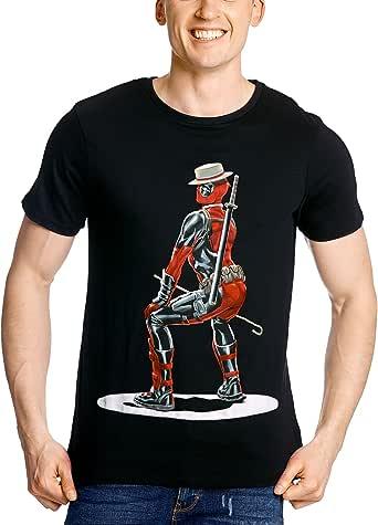 Deadpool Artist camiseta negro algodón - XL