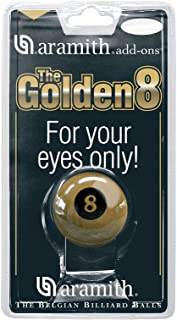 Exclusive 5.1cm Aramith Premier GOLDEN 8 BALL Single Pool Ball