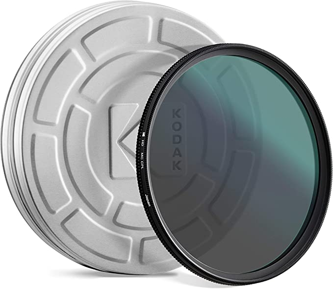 58mm Multithreaded Glass Filter Circular Polarizer Multicoated for Sony DCR-VX2100 C-PL