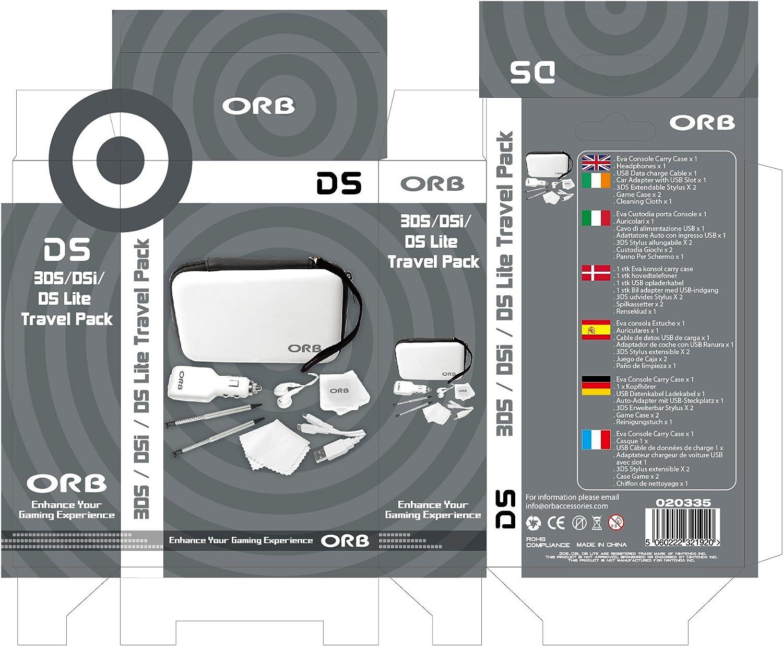Nintendo 3DS Travel Pack White [Importación Inglesa]: Amazon.es ...