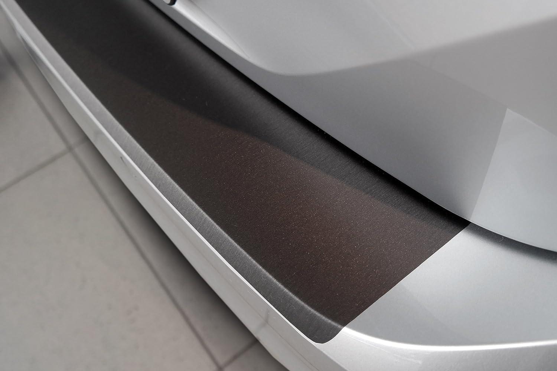 Lackschutzshop Protection de seuil de Chargement pour Suzuki Vitara//Vitara-S /à partir de 2015 Aluminium bross/é Anthracite//Gris