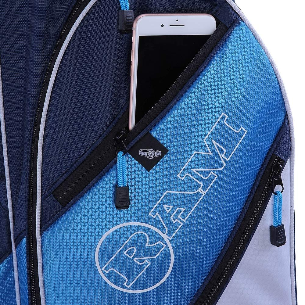 RAM Golf Lightweight Ladies Cart Bag with 14 Way Full Length Dividers Blue/White by RAM (Image #4)