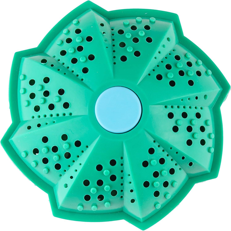 Bola Eco para Lavadora, 10cm| Natural e Hipoalergenico| Ecológico y Reutilizable| hasta 1500 Ciclos de Lavado Sin Detergente.