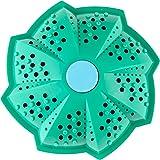 Wäscheball für Waschmaschine, biologischer Keramik Waschball, wäscht ohne Waschmittel, Chemie und Tenside, Bio Waschkugel, ideal für Allergiker (Baby Blau)