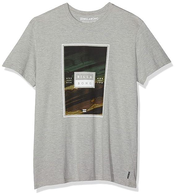 BILLABONG Tucked SS Camiseta, Gris (Grey Heather 9), X-Small ...