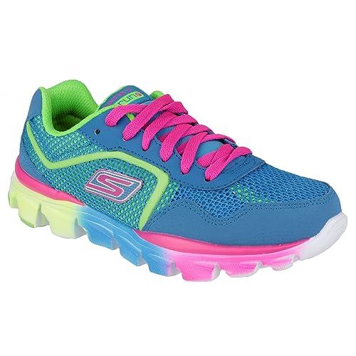 0d29764c619 Skechers Niñas GO Run Ride Zapatos técnicos Azul Size: 34: Amazon.es:  Zapatos y complementos