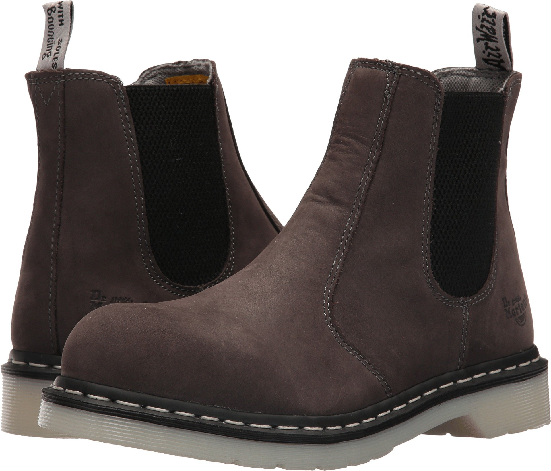Dr. Martens Women's Arbor Chelsea Boots, Grey, 4 UK, 6 US by Dr. Martens