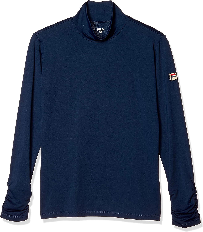 (フィラテニス)FILA TENNIS テニスウェア ロングスリーブシャツ 18SS VL8006 [レディース] VL8006 20 フィラネイビー L