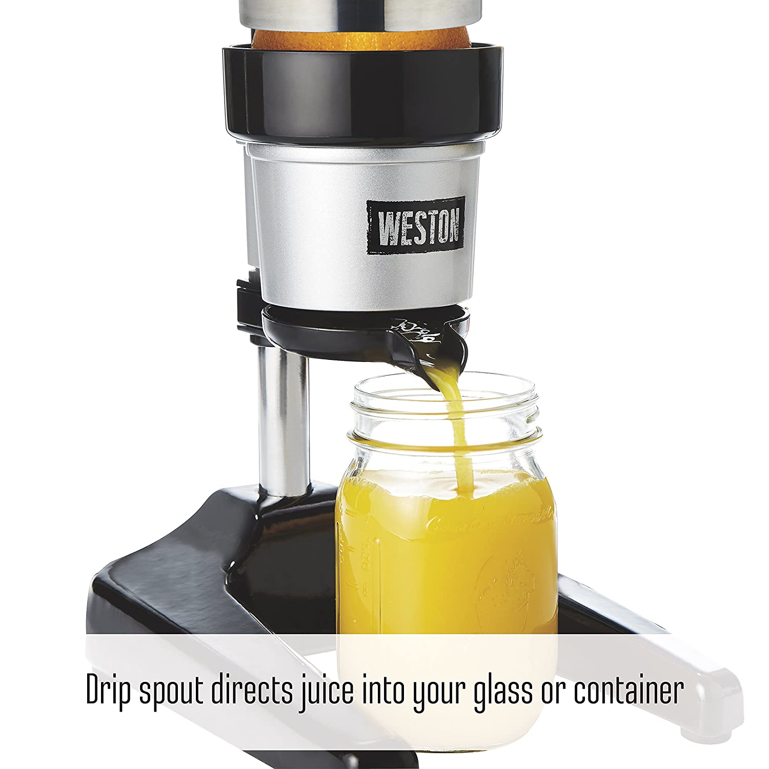 Amazon.com: Weston 66431 Pro Series Citrus Juicer, One, Silver: Kitchen & Dining