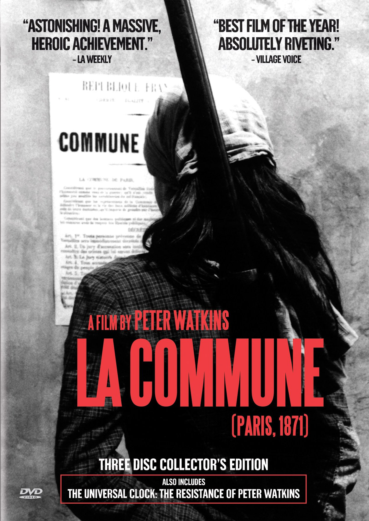La Commune (Paris 1871) (3pc) (Coll Sub B&W) by Icarus Films
