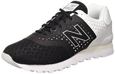 8069f7f05fe Image Unavailable. Image not available for. Color: New Balance Men's 574 Re- Engineered Classic Running Shoe, Black/White ...