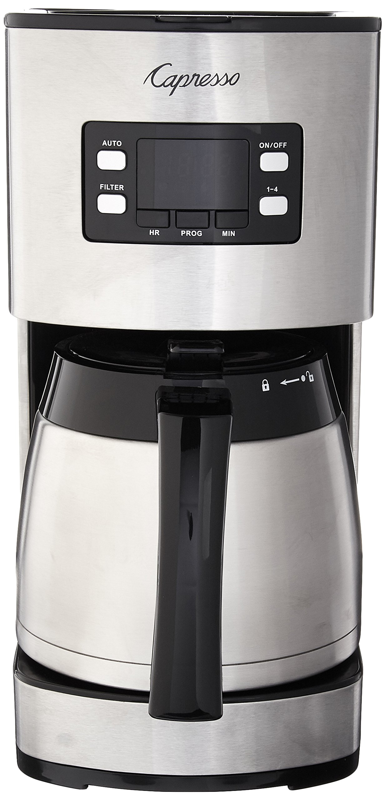 Capresso 435.05 10 Cup Thermal Coffee Maker ST300, Stainless Steel by Capresso