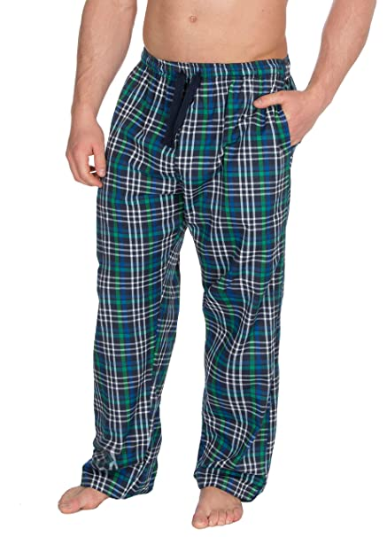 amazing quality outlet sale how to find INSIGNIA Mens Poly Cotton Check Pyjamas Lounge Pants Bottoms