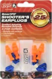 Howard Leight by Honeywell SmartFit Corded Reusable Shooting Earplugs, 2-Pairs (R-01520)