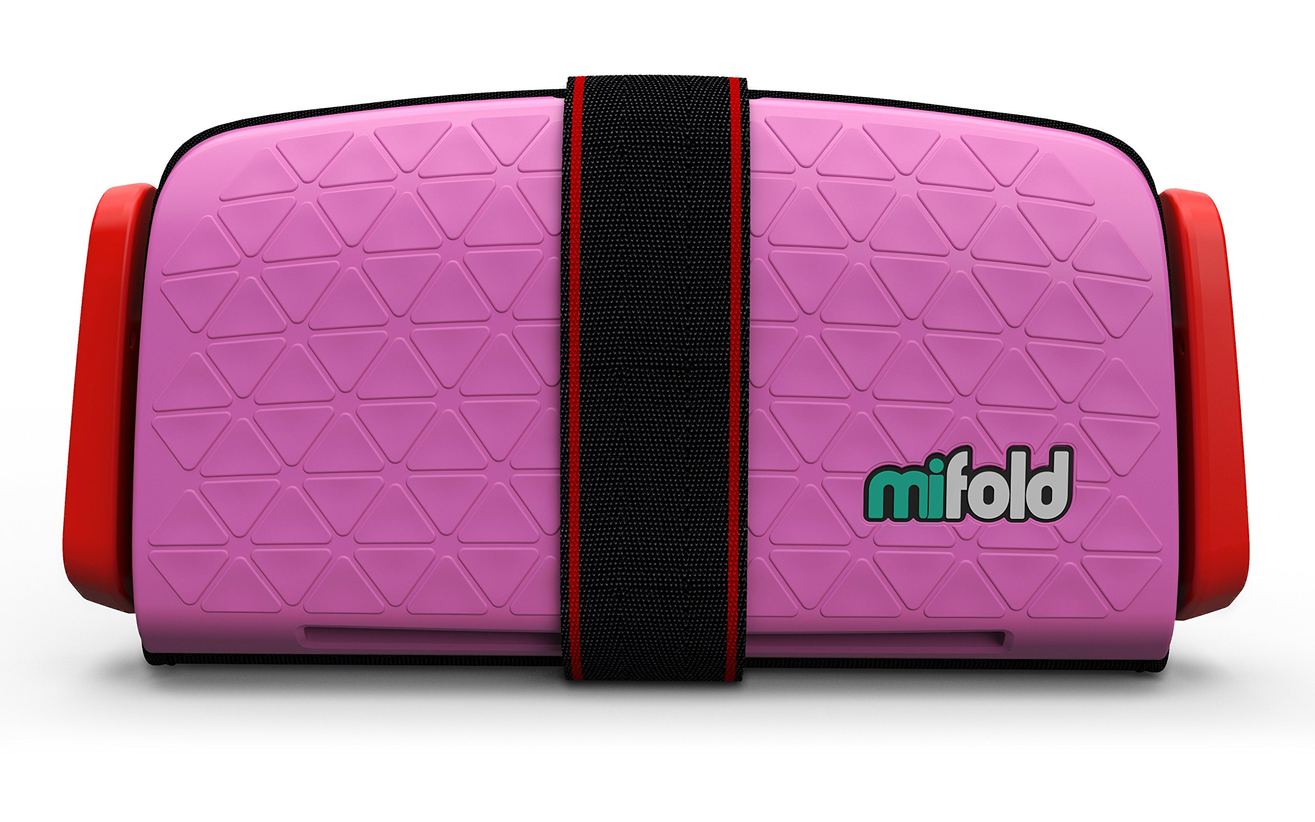 mifold Grab-and-Go Car Booster Seat, Perfect Pink