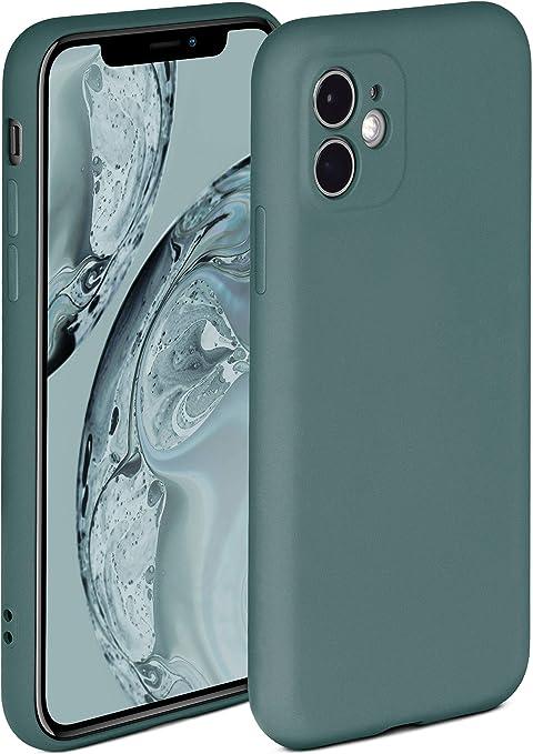 Oneflow Soft Case Kompatibel Mit Iphone 11 Hülle Aus Silikon Erhöhte Kante Für Bildschirmschutz Zweilagig Weiche