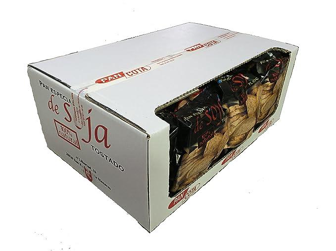 Pan Especial de Soja Tostado de Pan Cota (caja con14 bolsas)