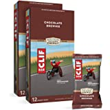 CLIF BARS - Energy Bars - Chocolate Brownie Made with Organic Oats - Plant Based Food - Vegetarian - Kosher (2.4 Ounce Protei