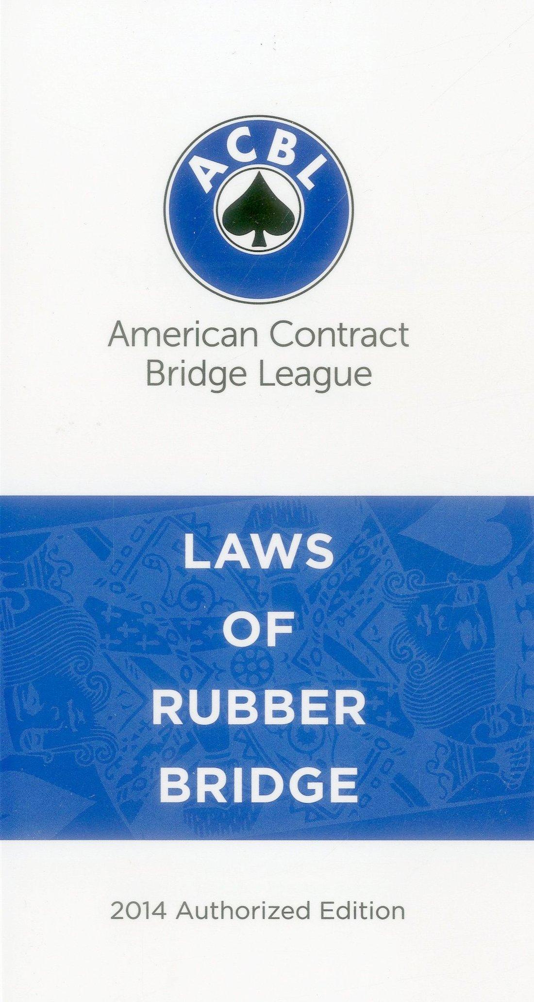 Download Laws of Rubber Bridge PDF