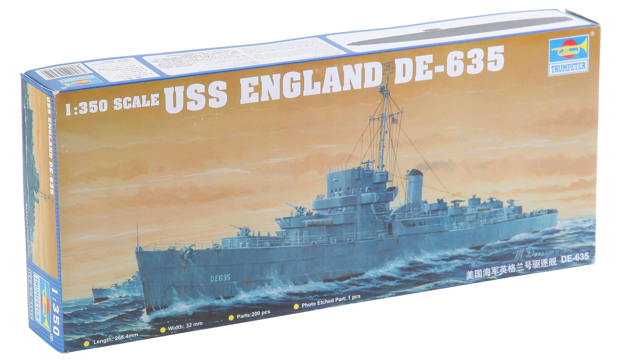 Trumpeter 1/350 Scale USS England DE635 Buckley Class Destroyer