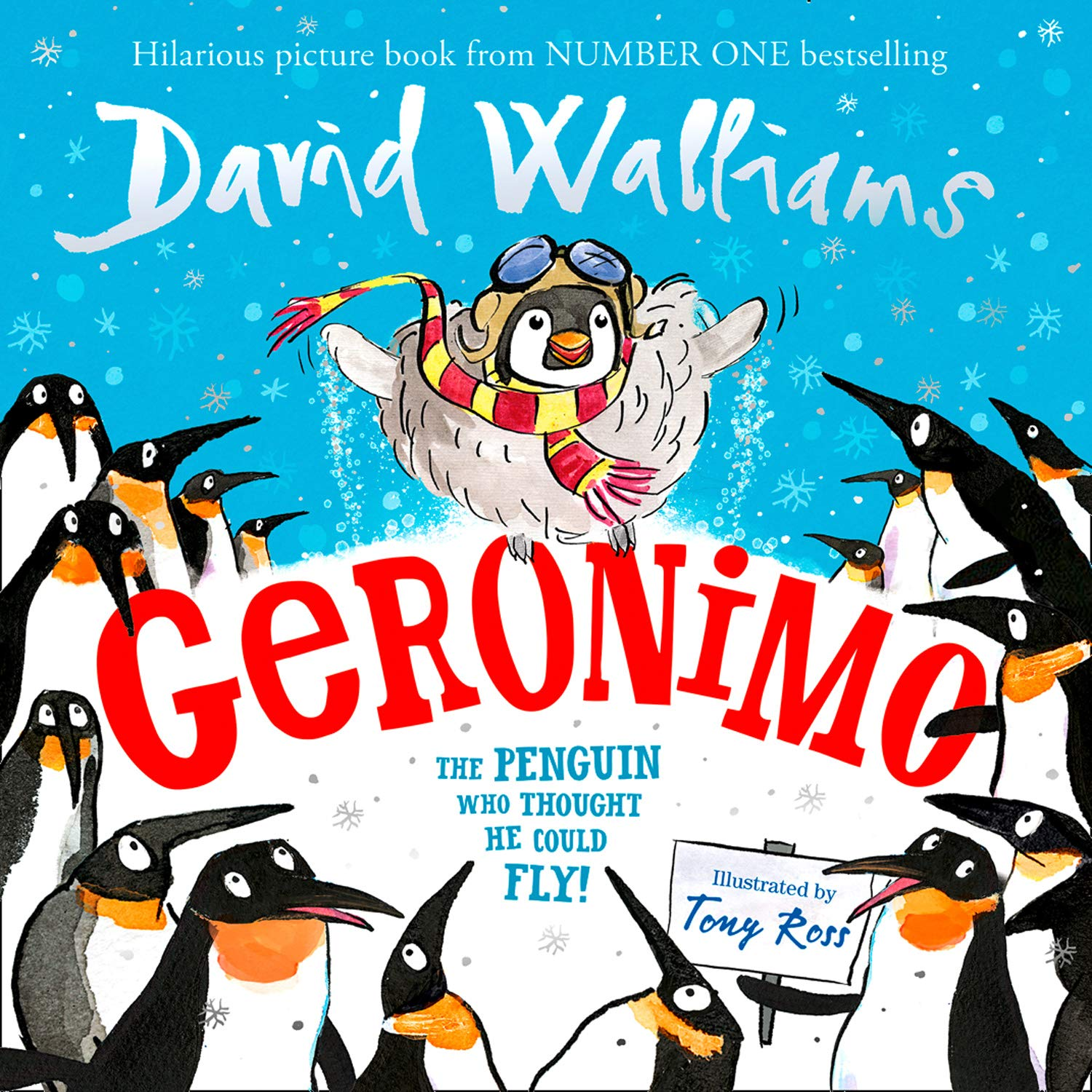 Geronimo: The Penguin who thought he could fly!: Amazon.co.uk ...