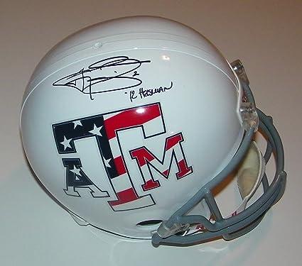 8ac31cc5 Amazon.com: Johnny Manziel Signed Autographed Auto Texas A&M Aggies ...