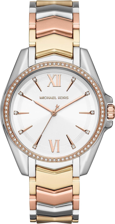 Michael Kors Reloj Analogico para Mujer de Cuarzo con Correa en Acero Inoxidable MK6686