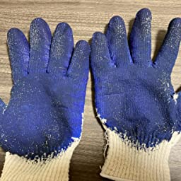 Amazon エースグローブ ゴム引き手袋 10双組 ハンズテン Lサイズ ブラック Ag863 グリップ 滑り止め手袋 産業 研究開発用品 通販