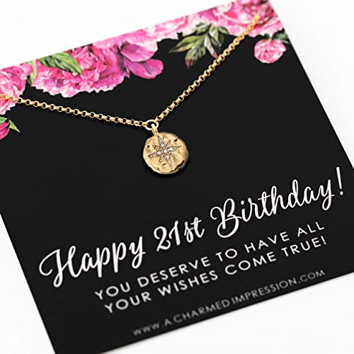 gifts for 21 year old daughter 21 birthday gift for her gold necklace for 21 birthday 21 birthday gift for her necklace