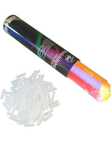 Rhino Glow resplandor de los palillos del resplandor, 300 Party Set glowsticks palos de luz