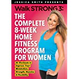 Walk Strong 3: The Complete 8 Week Home Fitness Program for Women Ultimate DVD Collection [20 Workouts on 6 discs, wall calen