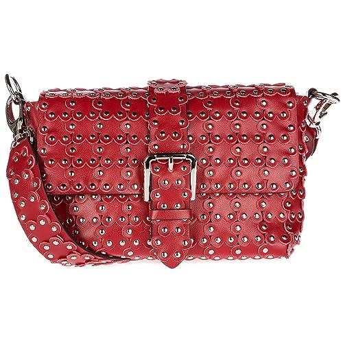 Red Valentino borsa a tracolla donna lacca  Amazon.it  Scarpe e borse 575204a644b