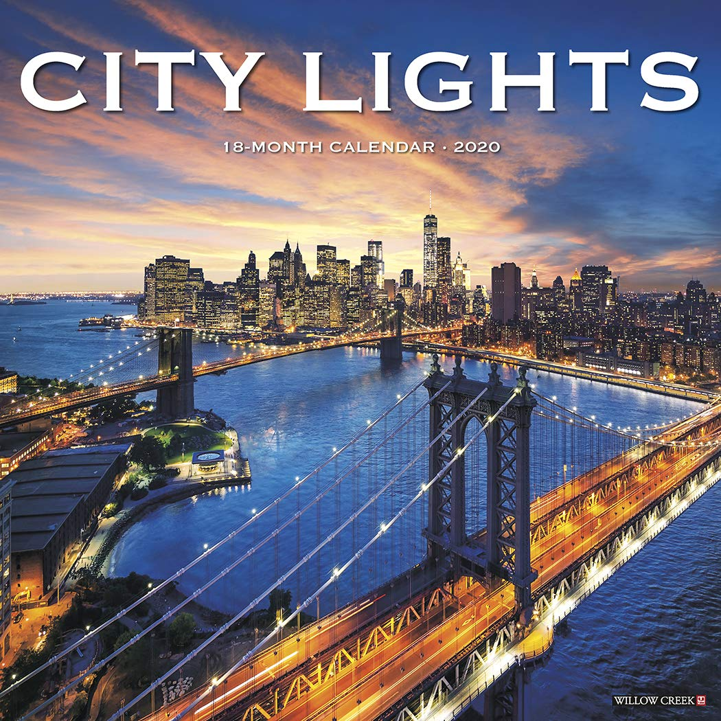 Light The World 2020 Calendar City Lights 2020 Calendar: Willow Creek Press: 0709786053360