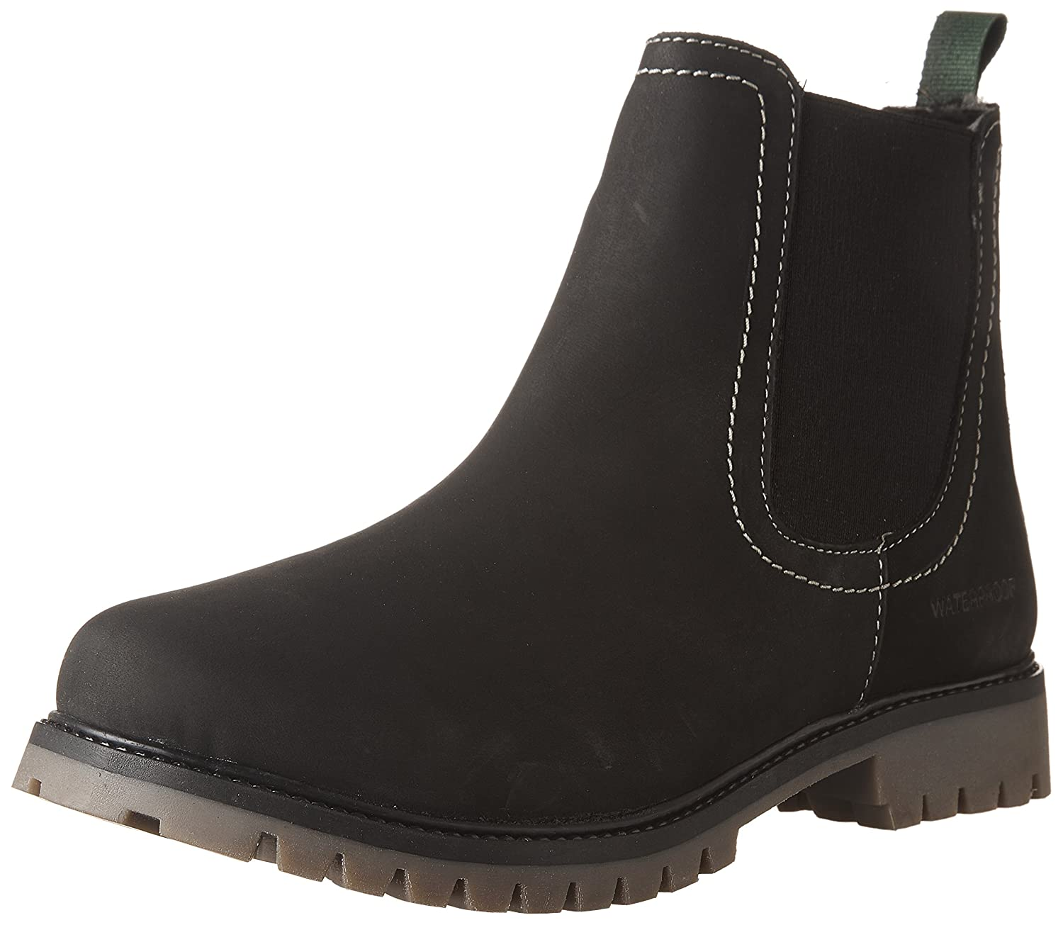 Kamik Kids' Takodac Fashion Boots, Black, 6 M US Big Kid WK4018