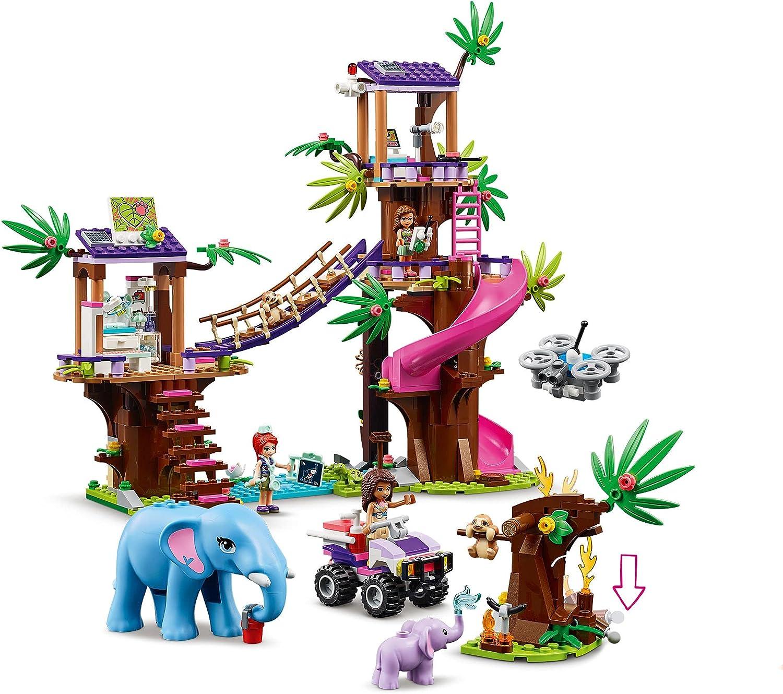 レゴ(LEGO) フレンズ フレンズのジャングルレスキュー基地 41424