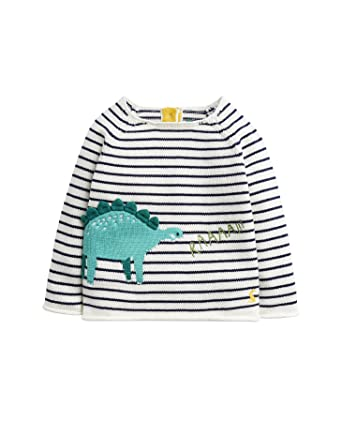 e3ade9666 Amazon.com  Joules Kids Mens Intarsia Dinosaur Sweater (Infant ...