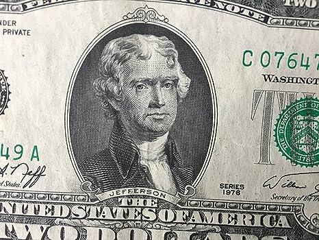 1928 2 dollar bill series d