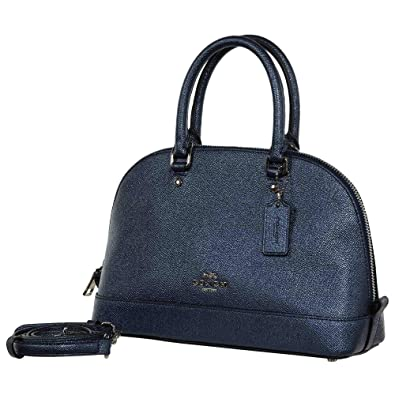 debfa025f342 Coach Women s Hand Shoulder Bag F22315 (Blue)  Handbags  Amazon.com