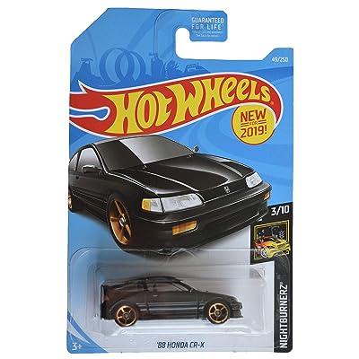 Hot Wheels Nightburnerz 3/10 [Black] '88 Honda CR-X 49/250: Toys & Games