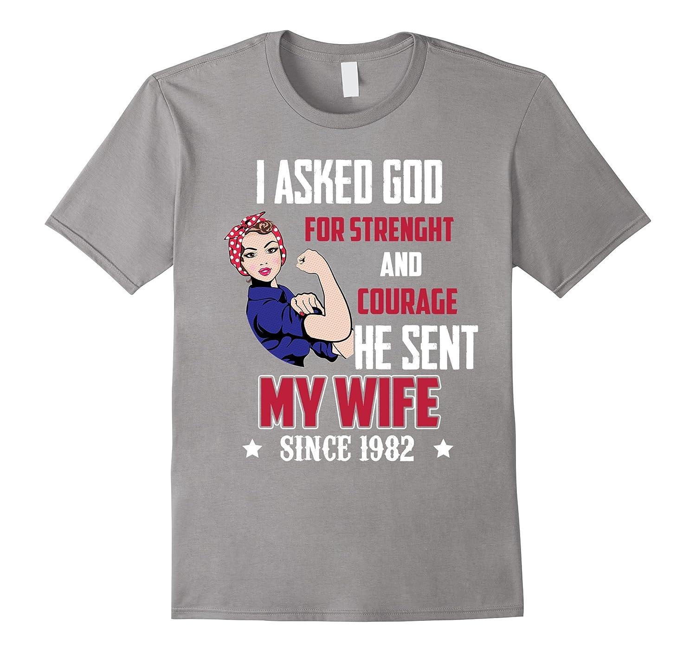 Amazing Tshirt For Wife 35th Wedding Anniversary Gifts Fl