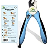 Pro Pet Works [Dog Nail Clippers Trimmer with Nail File for Grooming Large Dogs and Small Dogs and Cats-Quick Guard Sensor Inc-Best Dog Nail Trimmer and Dogs Clippers