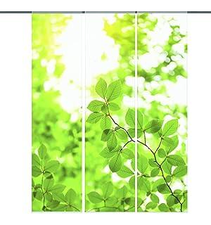 Extremely Amazon.de: Home fashion 88734-123 Schiebevorhang Digitaldruck  XL31