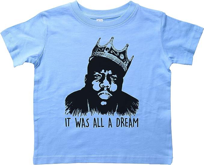 New Biggie Notorious Big It was all a dream Mens Black T-Shirt