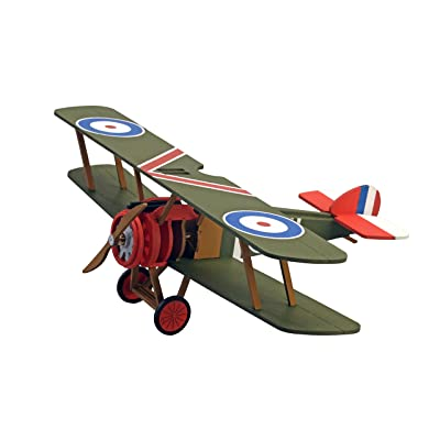 Artesania Latina Junior Collection Sopwith Camel World War I (WWI) Biplane Wooden Fighter Aircraft Model, 1/32 Scale: Clothing