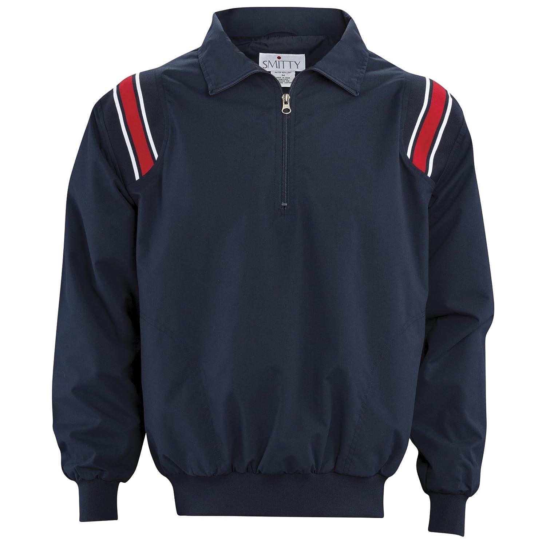 Adams USA admbb320 – 2 x l-nysc審判長袖プルオーバージャケット、ネイビー/スカーレット、XXLサイズ B07BDY5L69