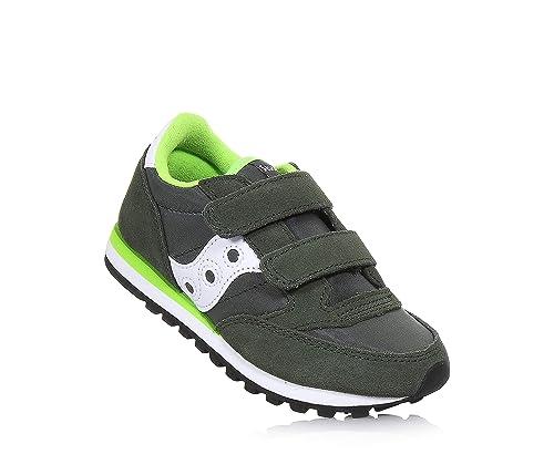 SAUCONY SK259621 Jazz DBLE HL Verde Blanco bebé niño Zapatos