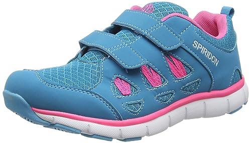 BruettingSpiridon Fit V - Zapatillas de Running Niñas, Color Turquesa, Talla 28: Amazon.es: Zapatos y complementos