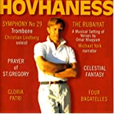 Hovhaness - Symphony No 29; Prayer of St Gregory; Rubaiyat