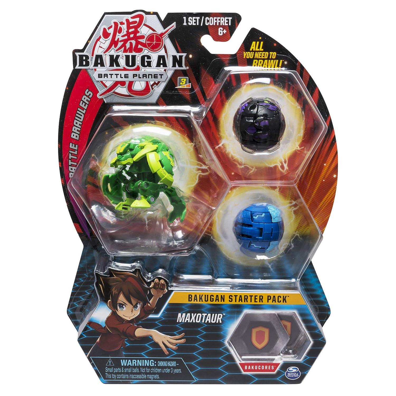 Bizak 61924426 Starter Pack Diamond Maxotaur, BAKUGAN